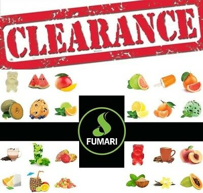 Fumari Available Flavours And Sizes In 100% Original Package
