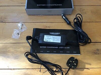 Aston Martin Battery Conditioner Charger in box 9G43-37-11089