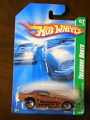 2008 HOT WHEELS TREASURE HUNT CHALLENGER FUNNY CAR 07 *with Protector Case*