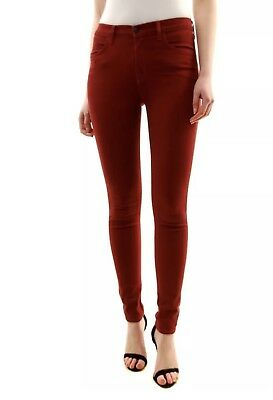 J BRAND Maria High Rise Skinny Jeans In Currant Size 25