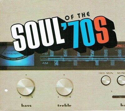 Soul of the '70s  10 CD Boxed Set Time Life New Free Shipping