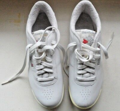 ed5914b8cb3 Reebok Classic Women s Athletic Princess 1475 White Shoes Sneakers Size 8