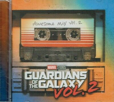 Guardians Of The Galaxy  Awesome Mix Tape Vol. 2  CD  New  Free Shipping
