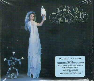Stevie Nicks  Bella Donna 3 CD Deluxe Edition Set  New Sealed Fast Shipping
