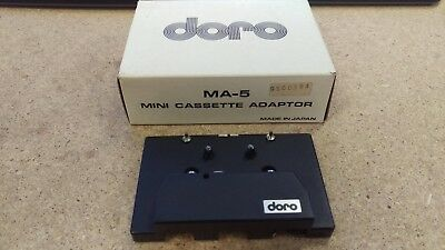 Doro MA-5 Mini Cassette Adaptor with Original Box