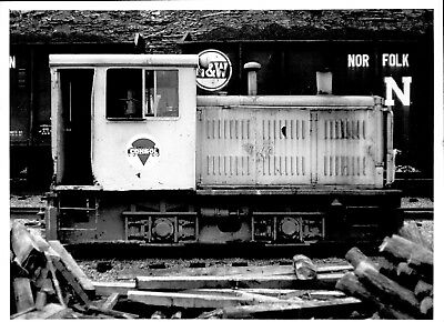 1971 Consolidated Coal Co Mine Train 5717 Plymouth JDT Engine 5x7 Photo X2200S M