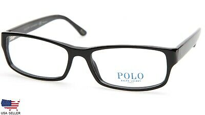 3a05a4f104ce NEW POLO RALPH LAUREN PH 2065 5001 SHINY BLACK EYEGLASSES FRAME 54-16-140