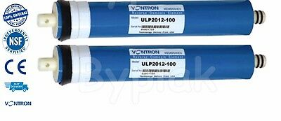 Brand new 2x 50GPD Reverse Osmosis RO Membranes Water Filter