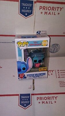 Funko Pop Lilo & Stitch: Stitch Valentine #510. Hot Topic Exclusive. Preorder.