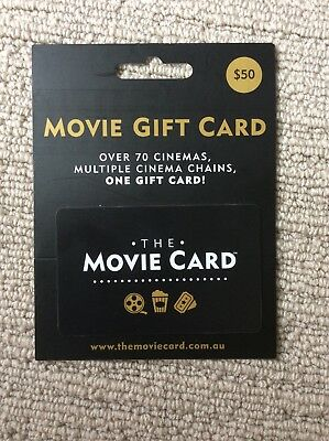 The Movie Gift Card $50