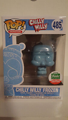 Funko Pop! Animation * CHILLY WILLY FROZEN * #485 Funko Shop LE Exclusive w/PROT
