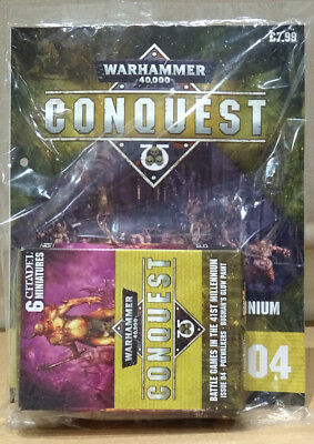 Warhammer 40,000 40k Conquest Issue 4 with Poxwalkers & Bugman's Glow *SOLD OUT*