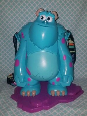 Disney Parks Exclusive 2018 Pixar Fest Sully Monsters Inc Sulley Popcorn Bucket