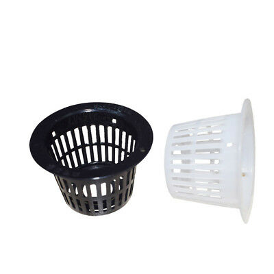10x Mesh Net Pot Cup For Hydroponics Cultivation Plant Seed Starting Grow Basket