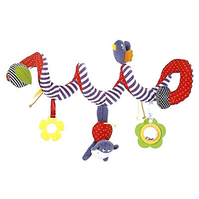 Activity Spiral Stroller Car Seat Travel Lathe Hanging Toys Baby Rattles Toy Fad