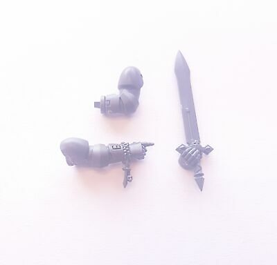 Dark Angel Space Marine Power Sword and Arm Bits - Warhammer 40k