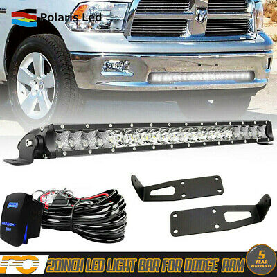 20 21 Led Light Bar Kit For Dodge Ram 1500 2500 Wiring