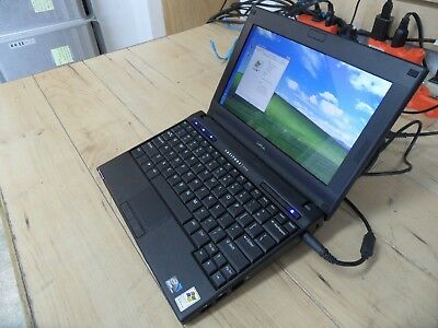 Dell Latitude 2110 Laptop 4 Parts Booted Windows Hard Drive Wiped *
