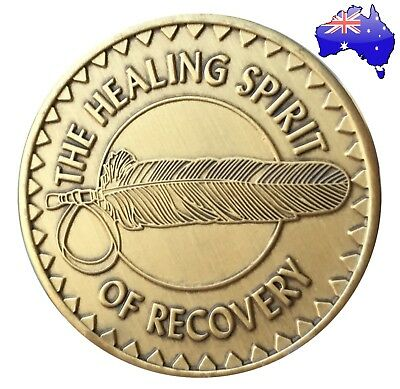 AA alcoholics anonymous Healing Spirit recovery sobriety coin token medallion