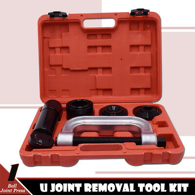 Heavy Duty Ball Joint Press & U Joint Removal Tool Kit with 4wd Adapters 2WD 4WD