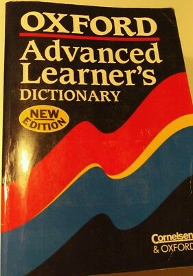 Oxford advanced learner's dictionary fifth edition