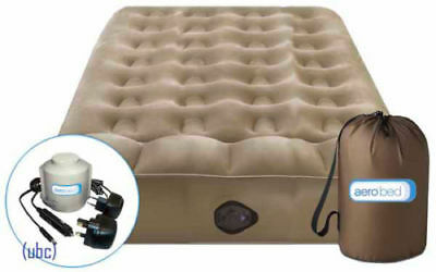 Aerobed Active Double Inflatable Guest Airbed - Model 55112UK Rechargeable Pump