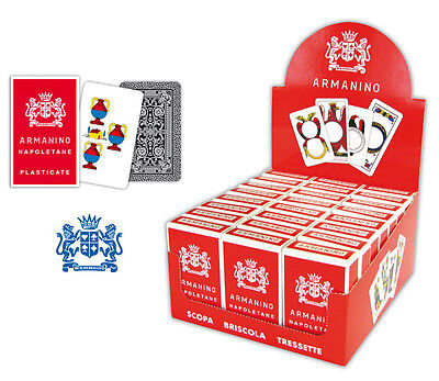 NEW SCOPA Italian playing cards Napoletane by ARMANINO