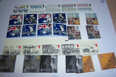 Unused Stamps Face Value £15+ Valid For Postal Use, Various Values