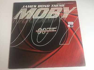 """Moby James Bond Theme - Tomorrow Never Dies 12"""" Mute"""