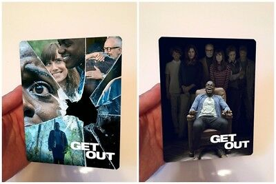 Get Out Lenticular Magnet cover Flip effect for Steelbook