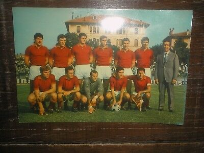 photo football EQUIPE ROMA années 50/60 je suppose DAMATO SIRENA CAPELLI SALVARI