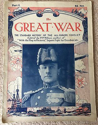 WWI THE GREAT WAR Standard History of the All Europe Conflict HW Wilson PART 2
