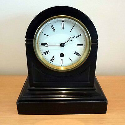Unusual 8 Day French Slate Clock