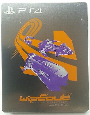 Wipeout Omega Collection PS4 Limited Edition Steelbook - Game NOT included