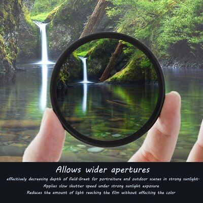 Super Thin 49/52/55/58/62/67/72/77MM Waterproof Circular CPL Camera Len FG