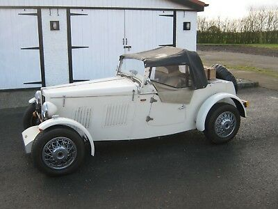 Jc 1930s inspired midge, built on a t&a white rose chassis Full wheather gear.
