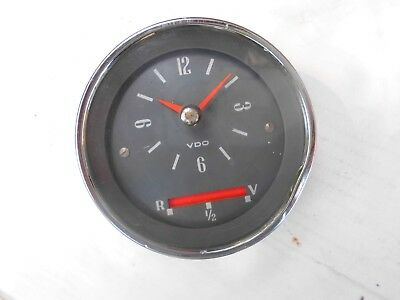 Vintage VDO clock, 12v - untested