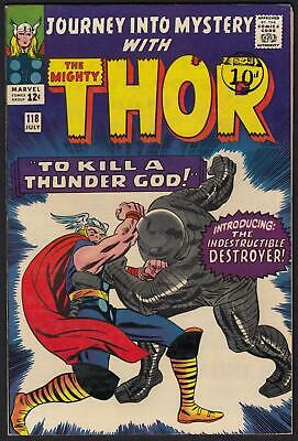 Journey Into Mystery With Thor #118 1st App of the Destroyer VFN-