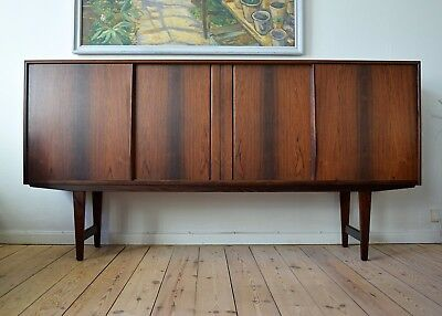 Danish Mid-Century Rosewood Sideboard By E.W. Bach For Sejling Skabe1960's.