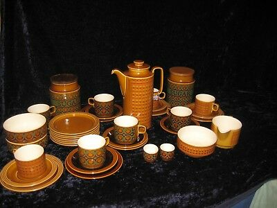 Vintage Hornsea Pottery Bronte and Saffron Selection of Items