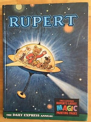 RUPERT BEAR ANNUAL 1966 NR FINE MAGIC PAINTINGS 98% UNDONE. Lovely! January Sale