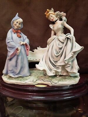 """1999 GUISEPPE ARMANI """"CINDERELLA/FAIRY GODMOTHER:"""" Signed with ink and numbered"""