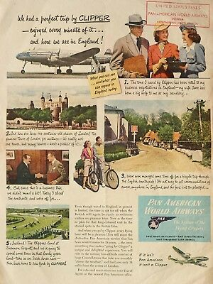 "PAN AM, Pan American - sales promotion - from the fifties (35 x 26 cm 14 x 10 "")"