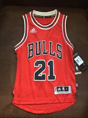 f0f3c114 CHICAGO BULLS YOUTH Jimmy Butler # 21 adidas Gray Pride Swingman ...