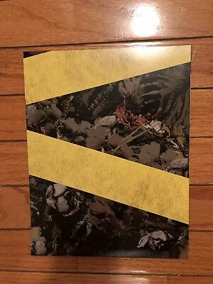 Twenty One Pilots Camo Trench Yellow Tape Wrapping Paper Sheet