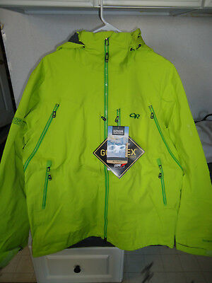 Outdoor Research White Room Gore-Tex Jacket Men's Large (L) - $549.95