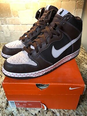 new product 22e0a 6f8fc Nike Dunk High- Easter Bunny brownpink- mens size 13