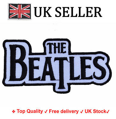 The Beatles Iron / Sew On Embroidered Embroidery Patch Badge Applique Motif band