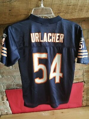 reputable site 70ab0 3508f reebok chicago bears brian urlacher 54 white authentic ...