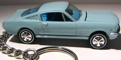 keychain 1965 Fastback FORD Mustang GT key chain ring keyring model (1964 1966)